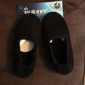 Isotoner Black Slippers